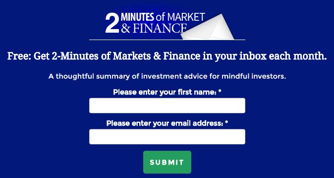 Financial advisor website showcase- Kefauver Financial