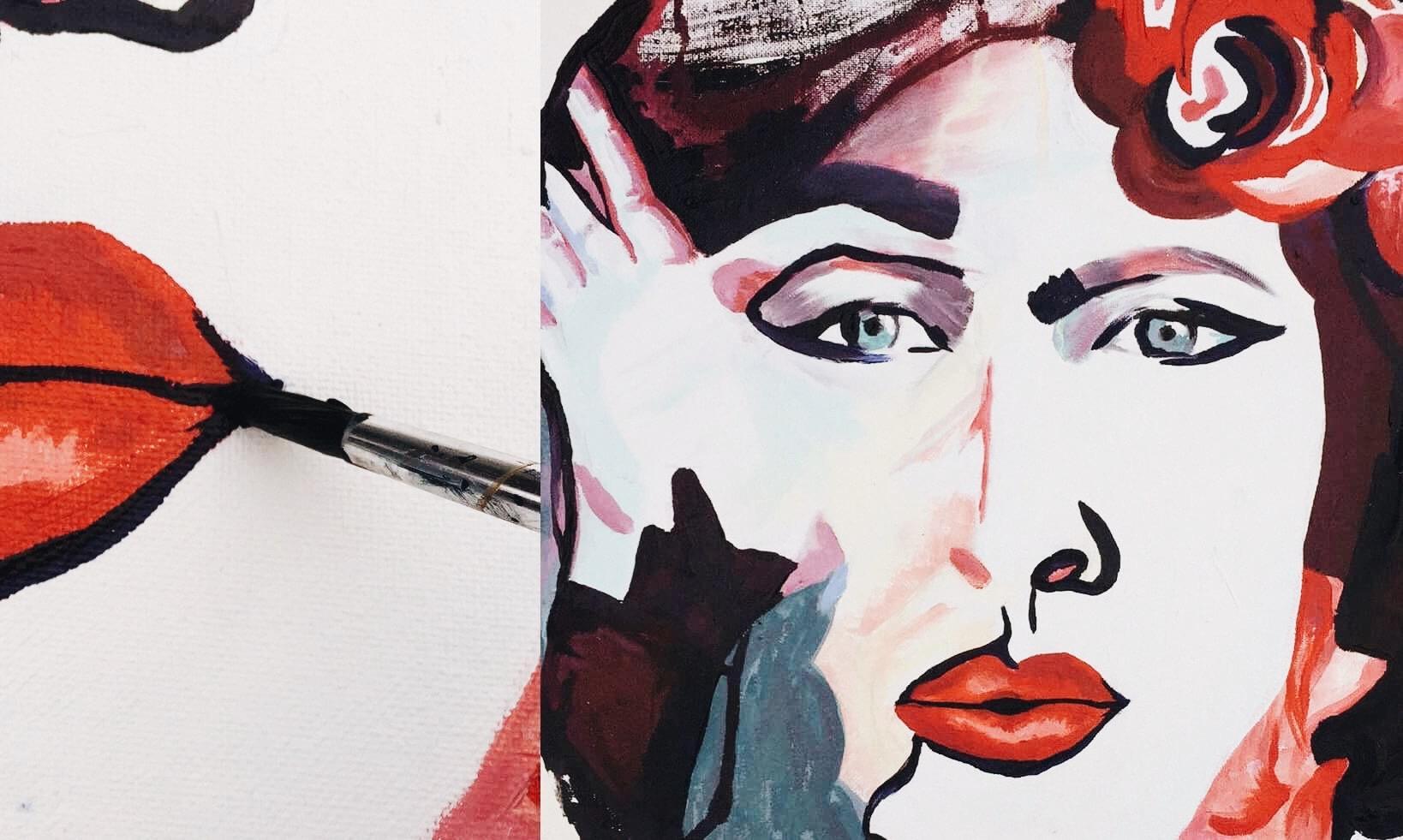 Heidi Pernett Painting