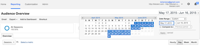 how to change date ranges in Google Analytics Featured Image