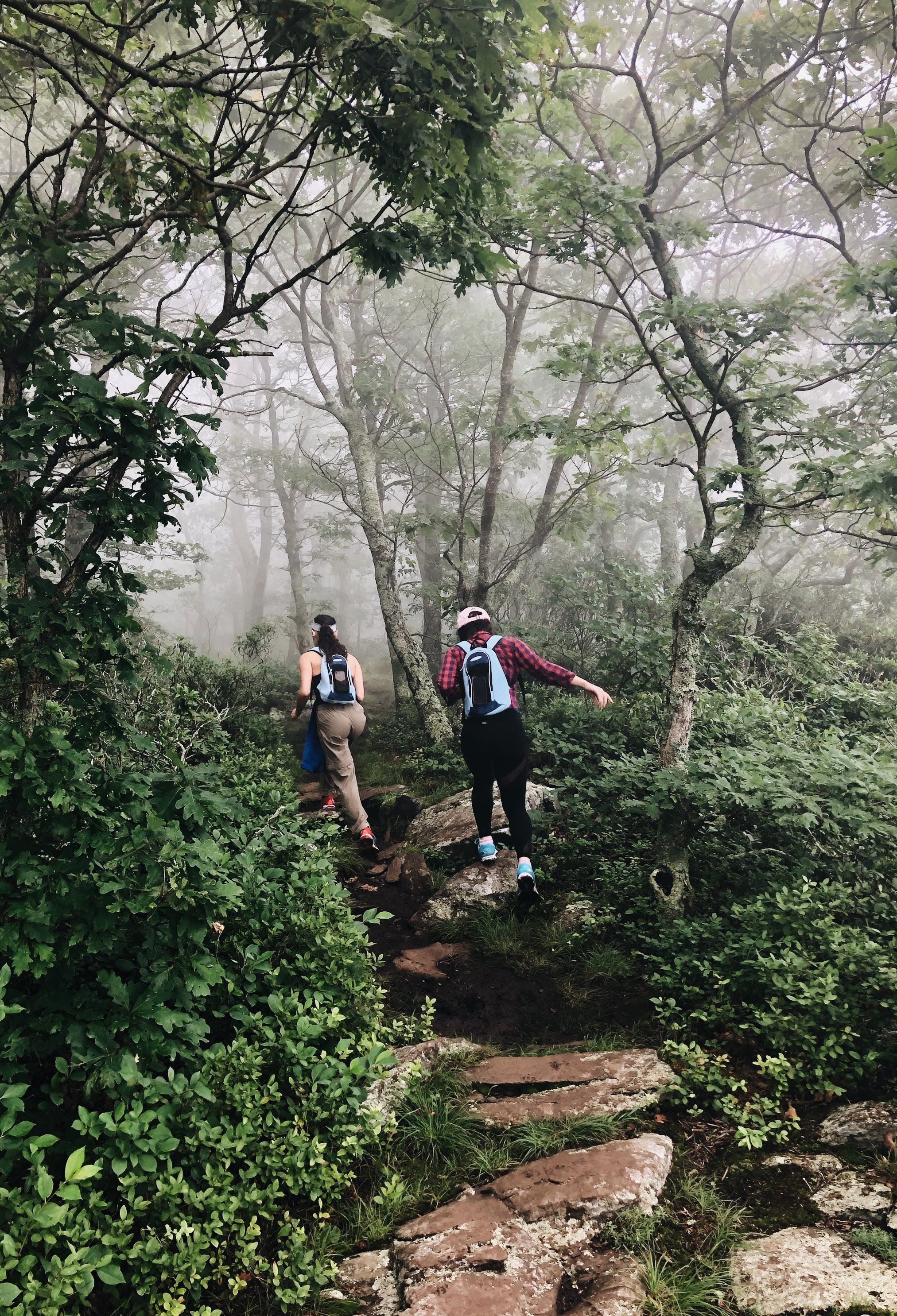 Katrina Herrera hiking