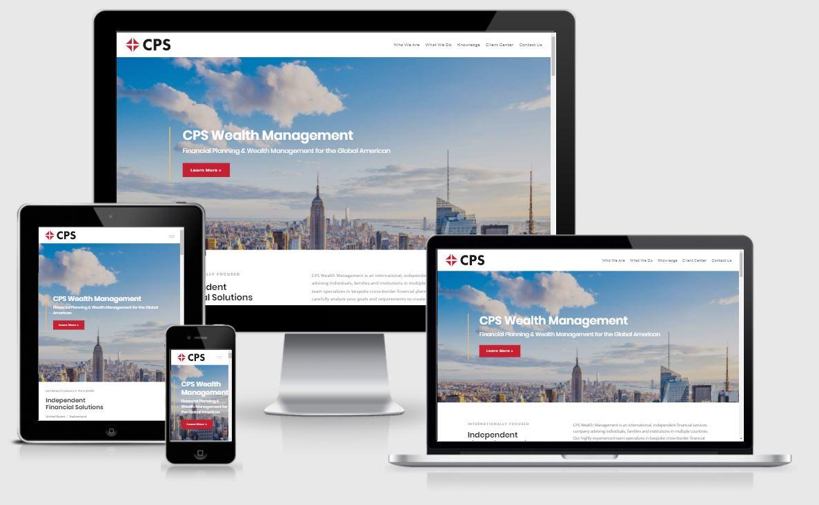 Best financial advisor website, CPS Wealth