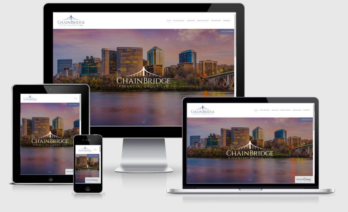 Chain Bridge Financial Group Website
