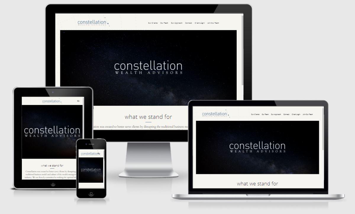 best financial advisor websites, constellation wealth