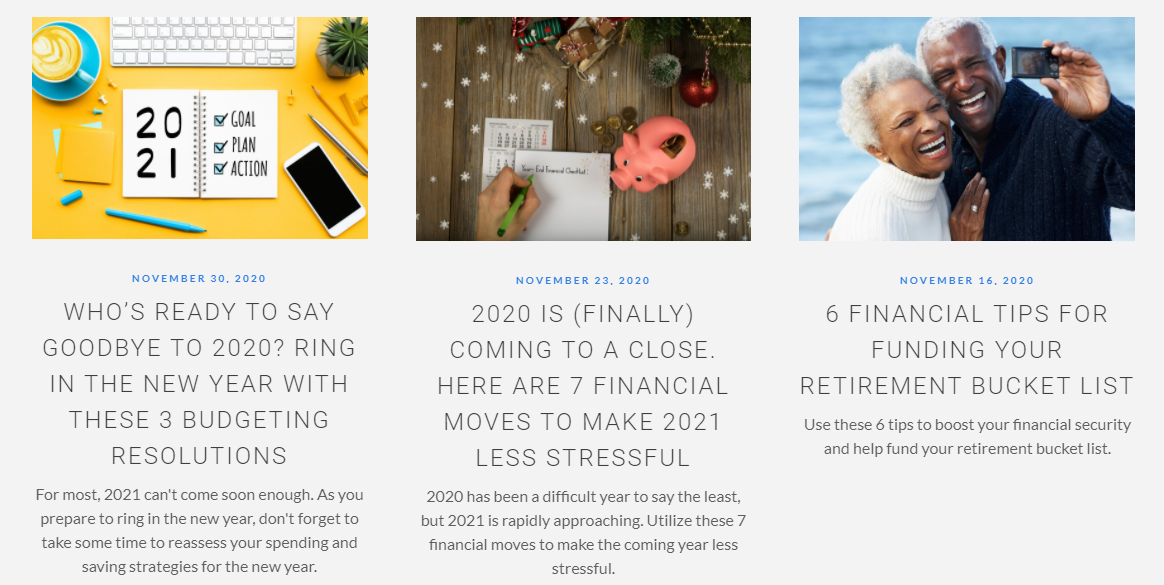 Dream Financial Planning Blog