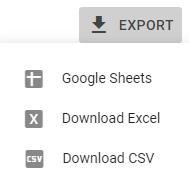 Export GSC
