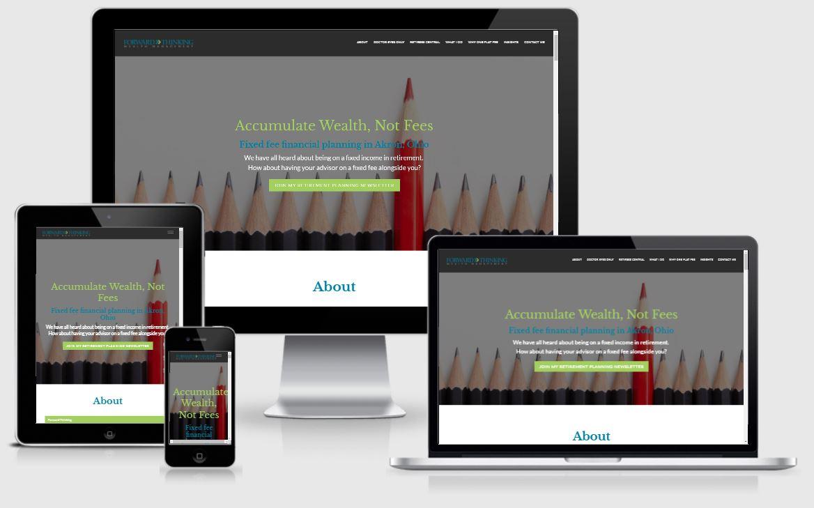 best financial advisor websites, forward thinking wealth management