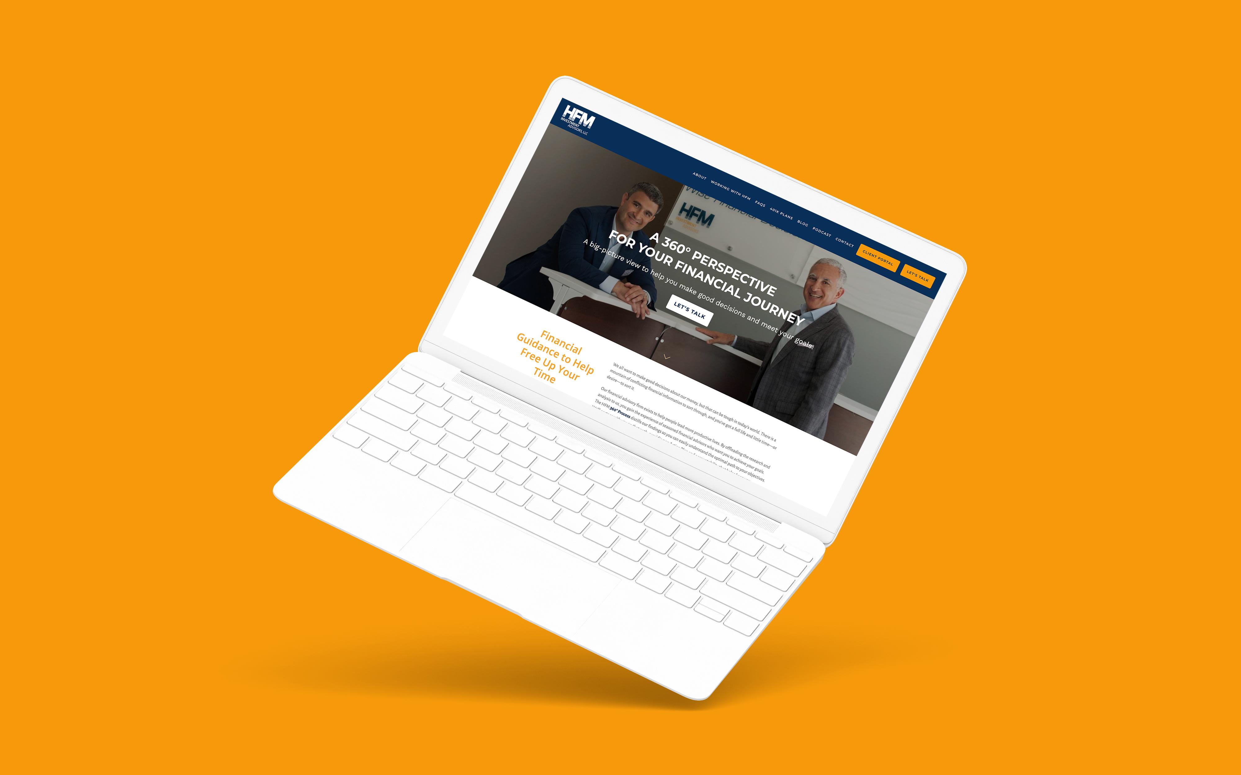 Financial Advisor Website Showcase: HFM Investment Advisors, LLC