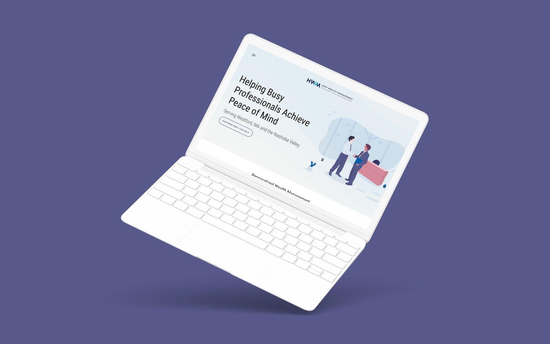 Financial Advisor Website Showcase: Hoyt Wealth Management Featured Image