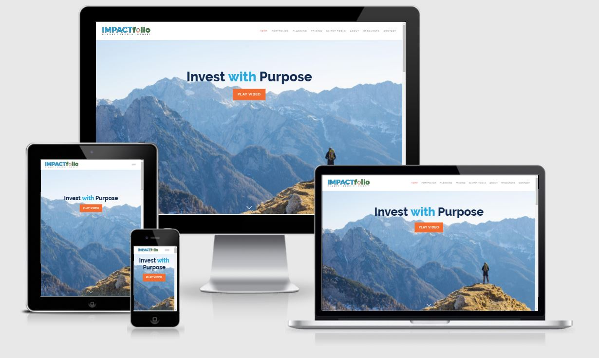 best financial advisor websites, IMPACTfolio