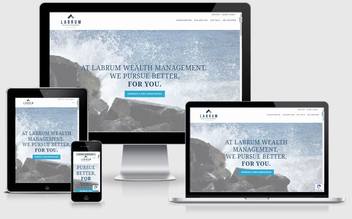 best financial advisor websites, labrum wealth management