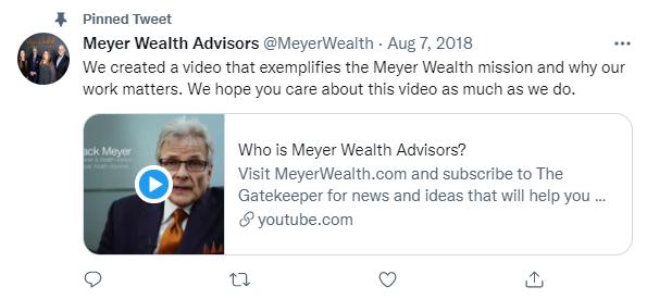 Meyer Wealth Twitter Example