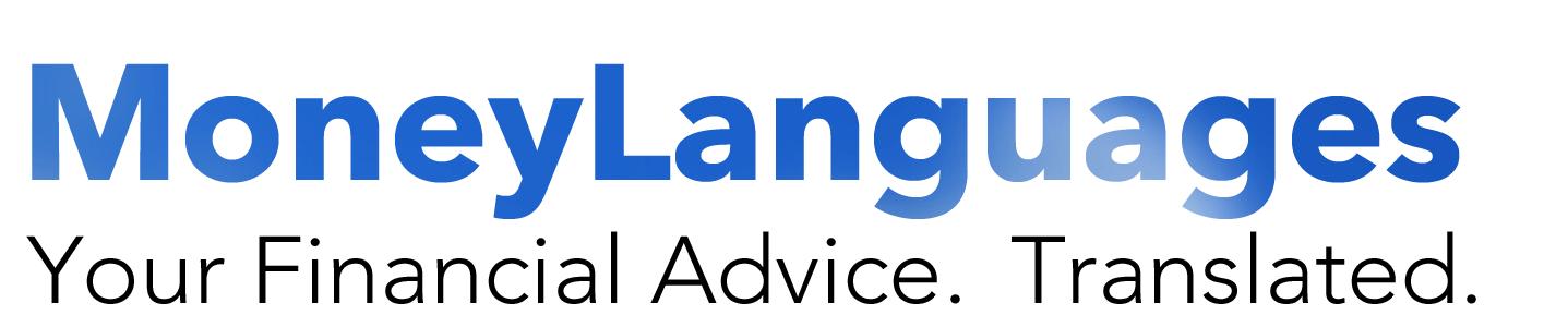 money languages financial advice