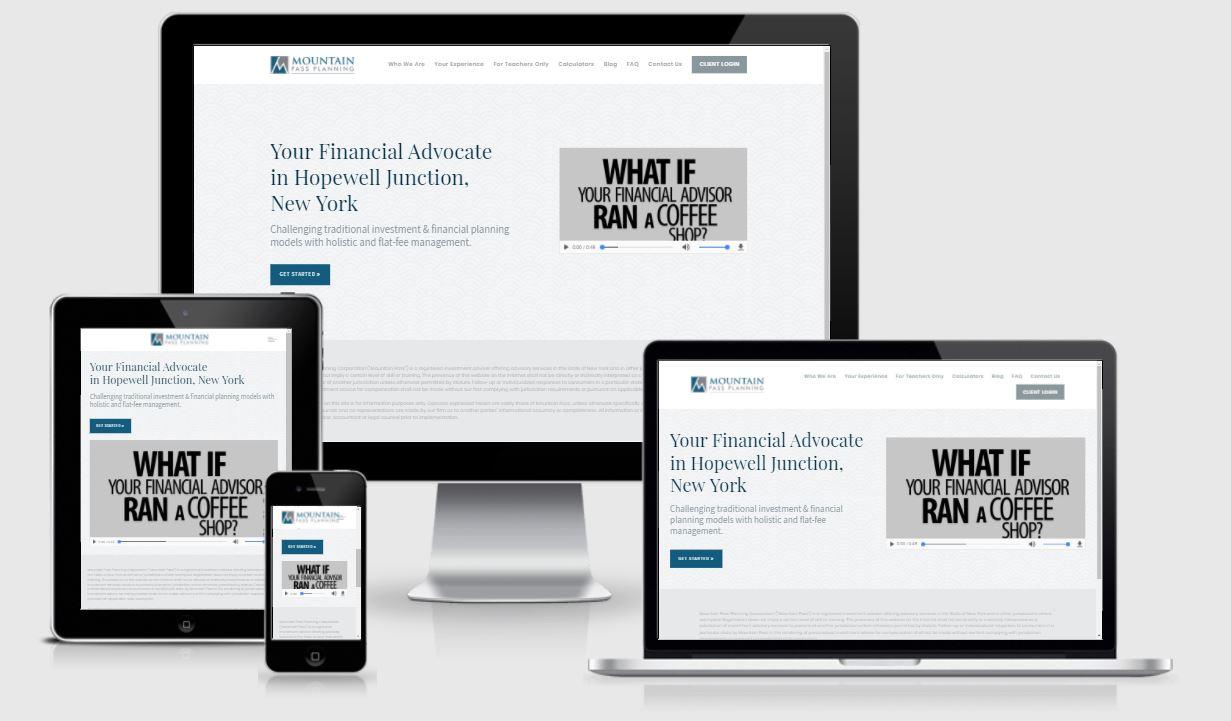 best financial advisor website, mountain pass planning