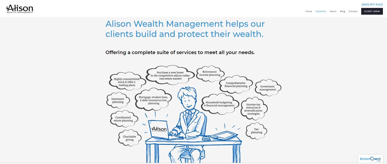 Alison Wealth Management graphic