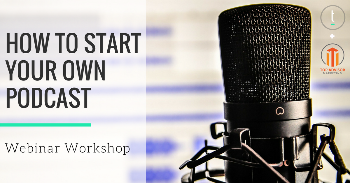 how to start your own podcast