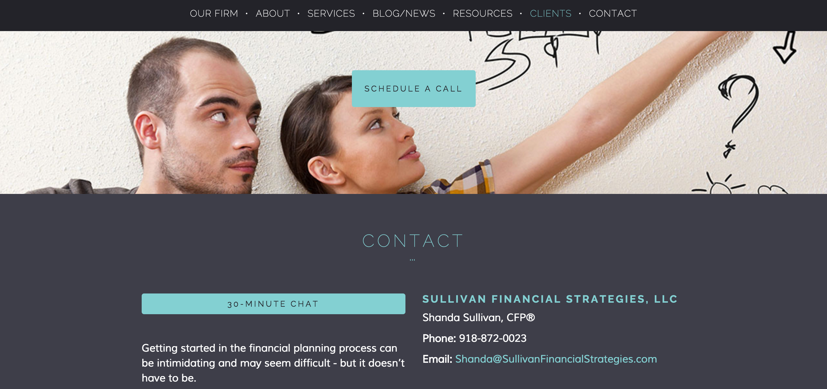 Photo of Gen X/Y on financial planning website