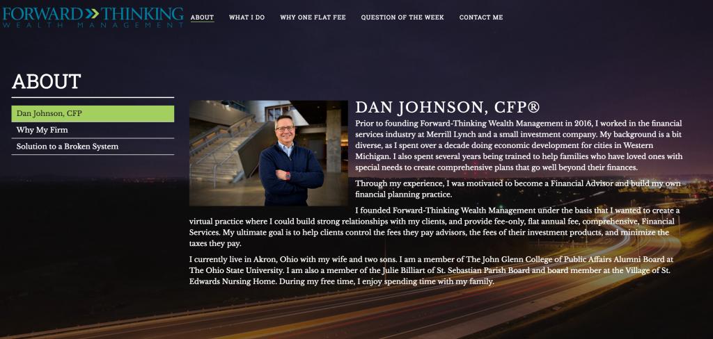 Websites for Financial Advisors