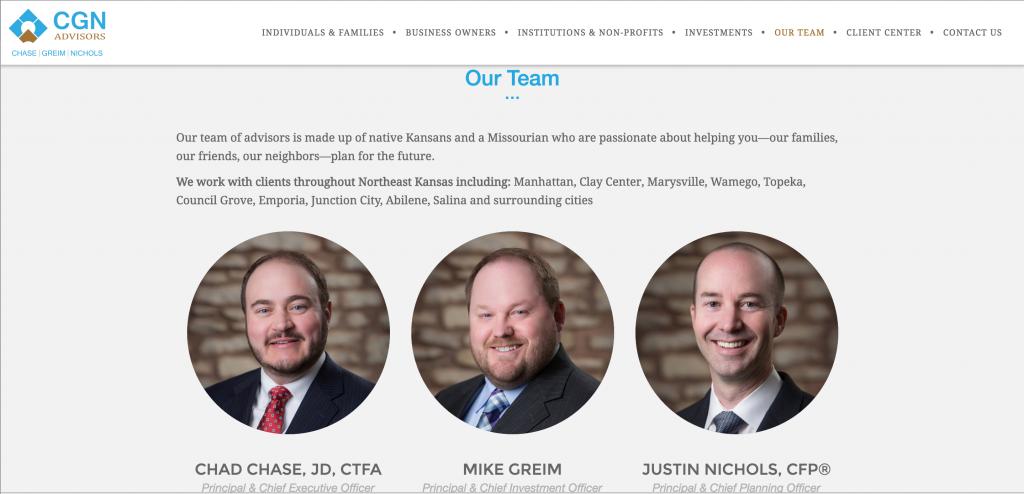Advisor Websites: CGN Advisors