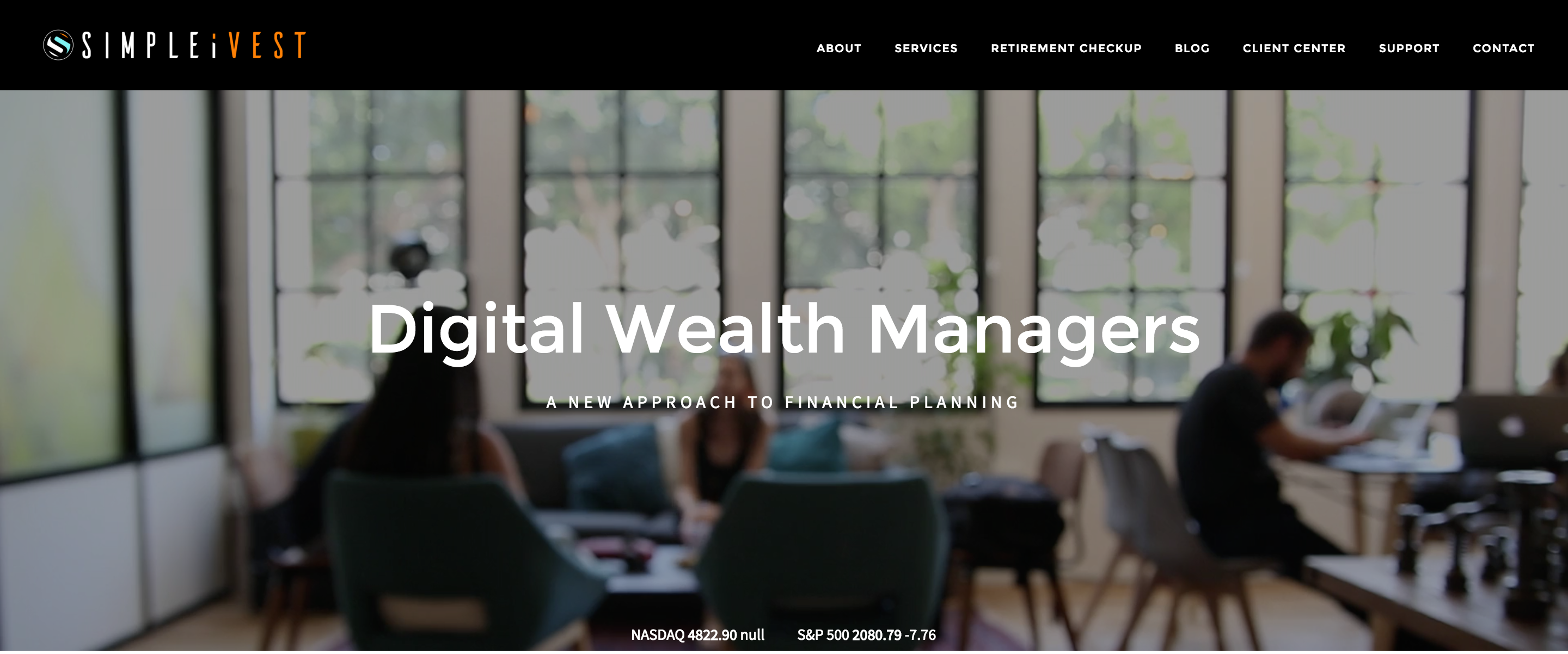 Financial advisor Website: SimpleiVest