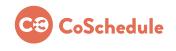 coschedule social media marketing