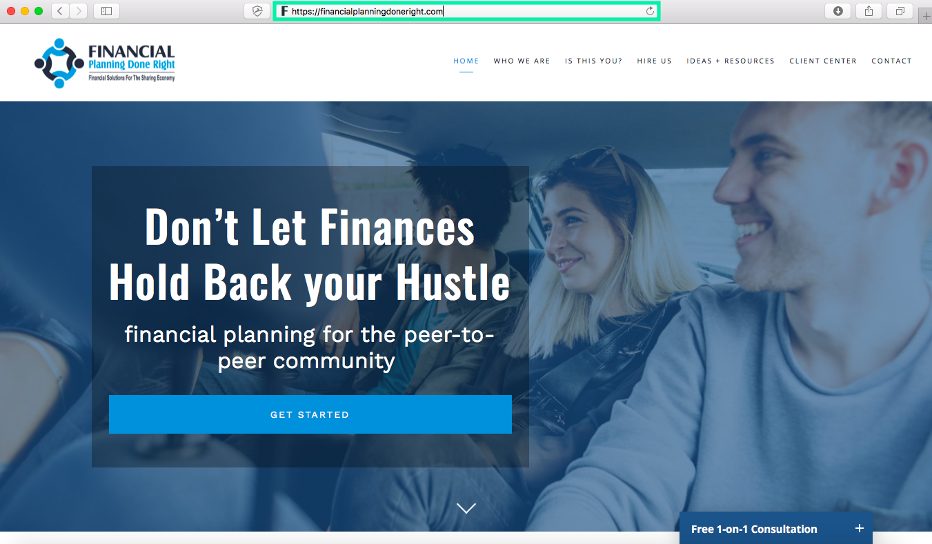 certified financial advisor website