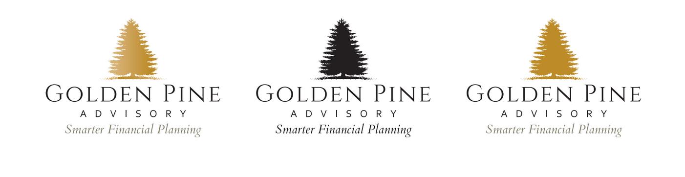 Golden Pine Advisory Logo Design