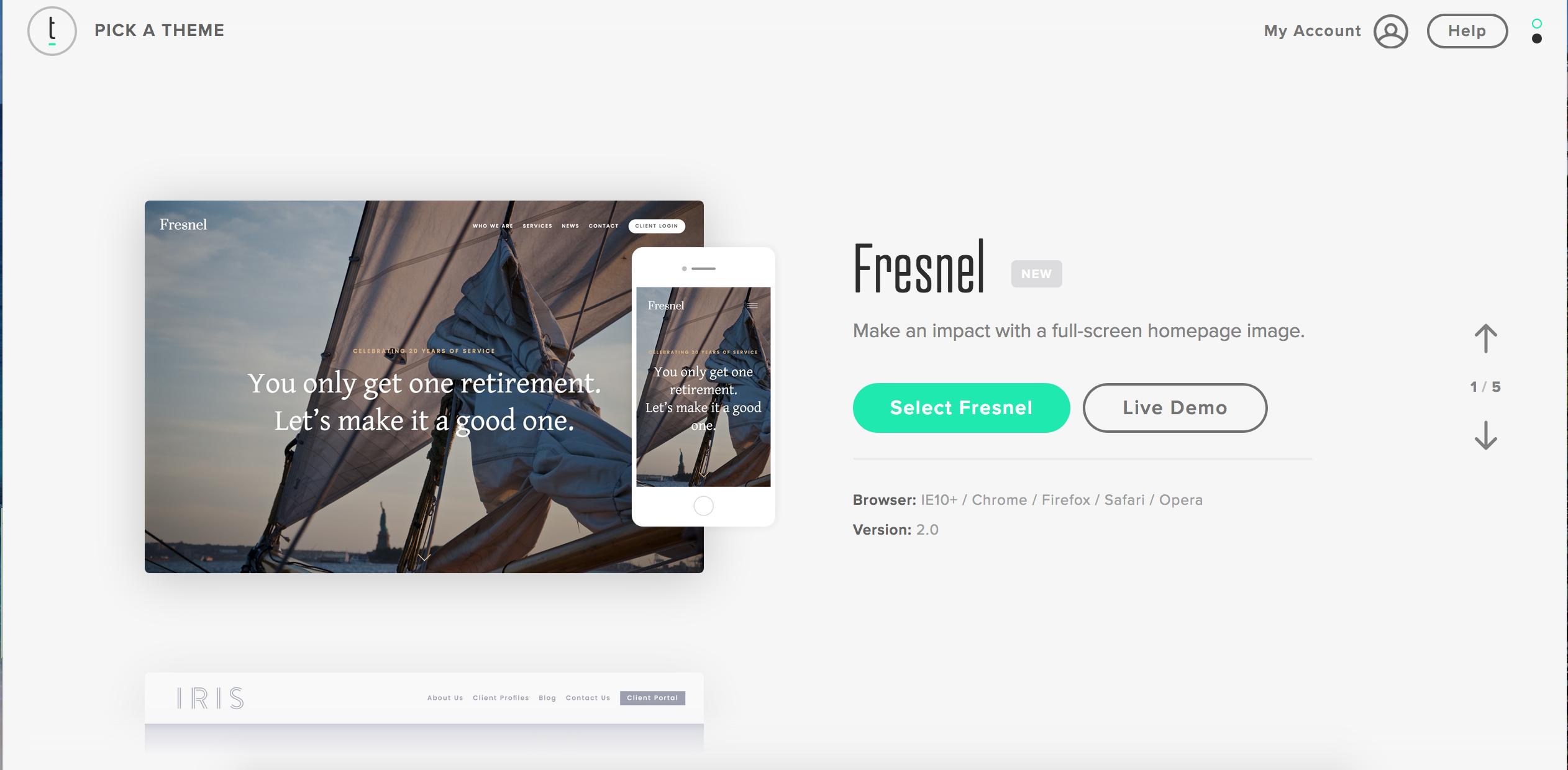 Twenty Over Ten website frameworks