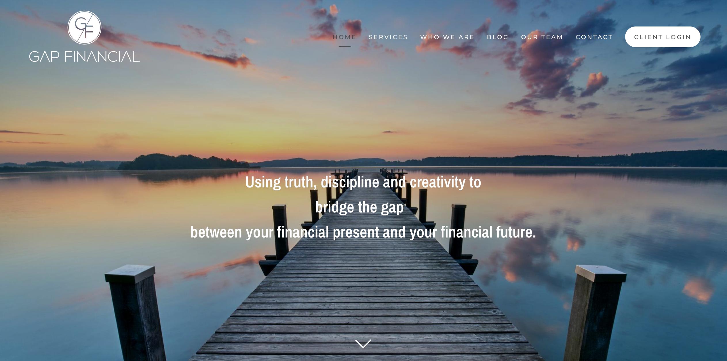 Gap Financial Services, a Twenty Over Ten website
