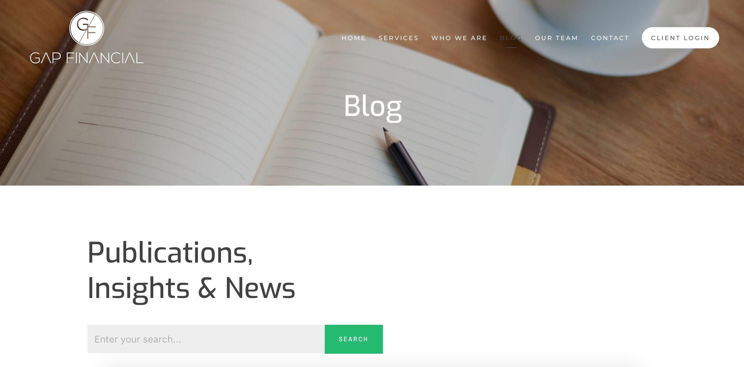 financial advisor blog