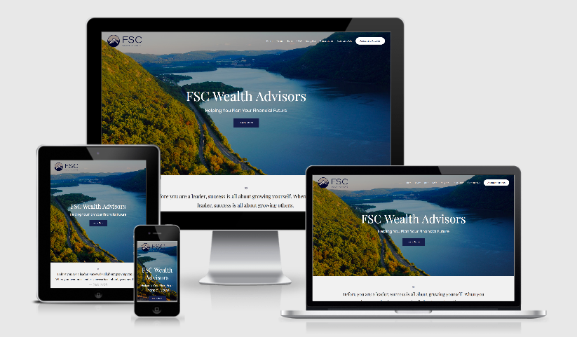 best financial advisor websites built by twenty over ten, fsc wealth advisors