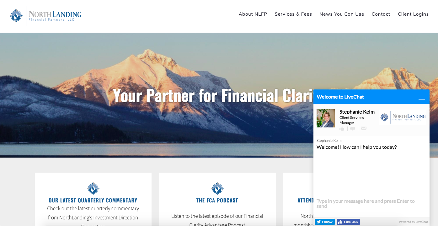northlanding financial partners best advisor website