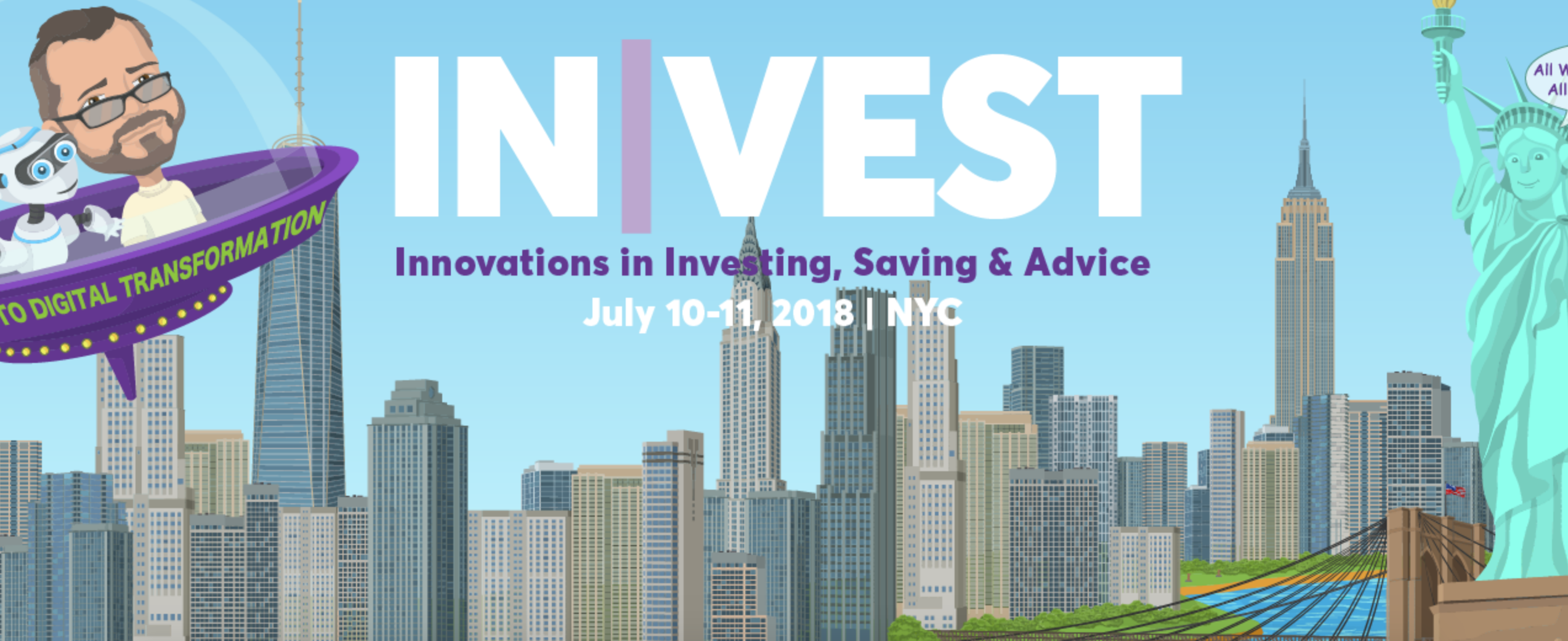 invest 2018, financial conferences to attend