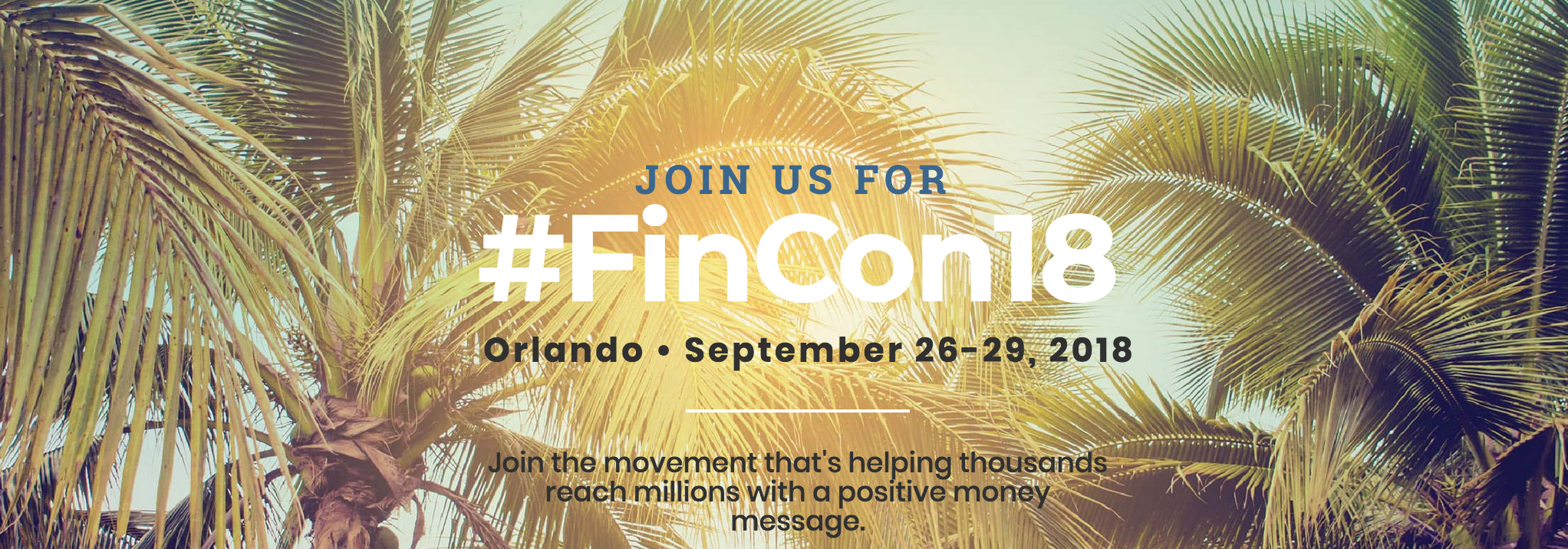 fincon, financial conference to attend 2018