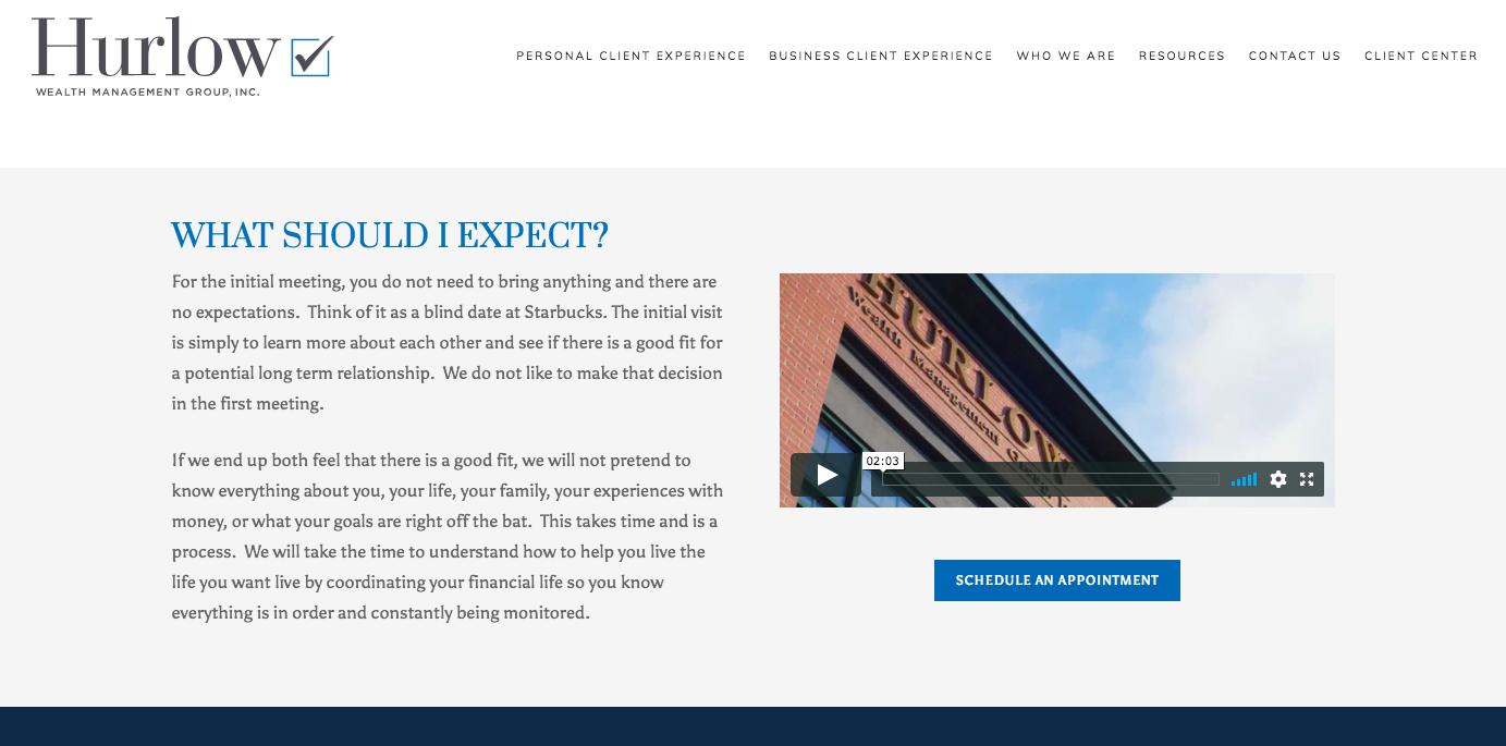 good website cta example