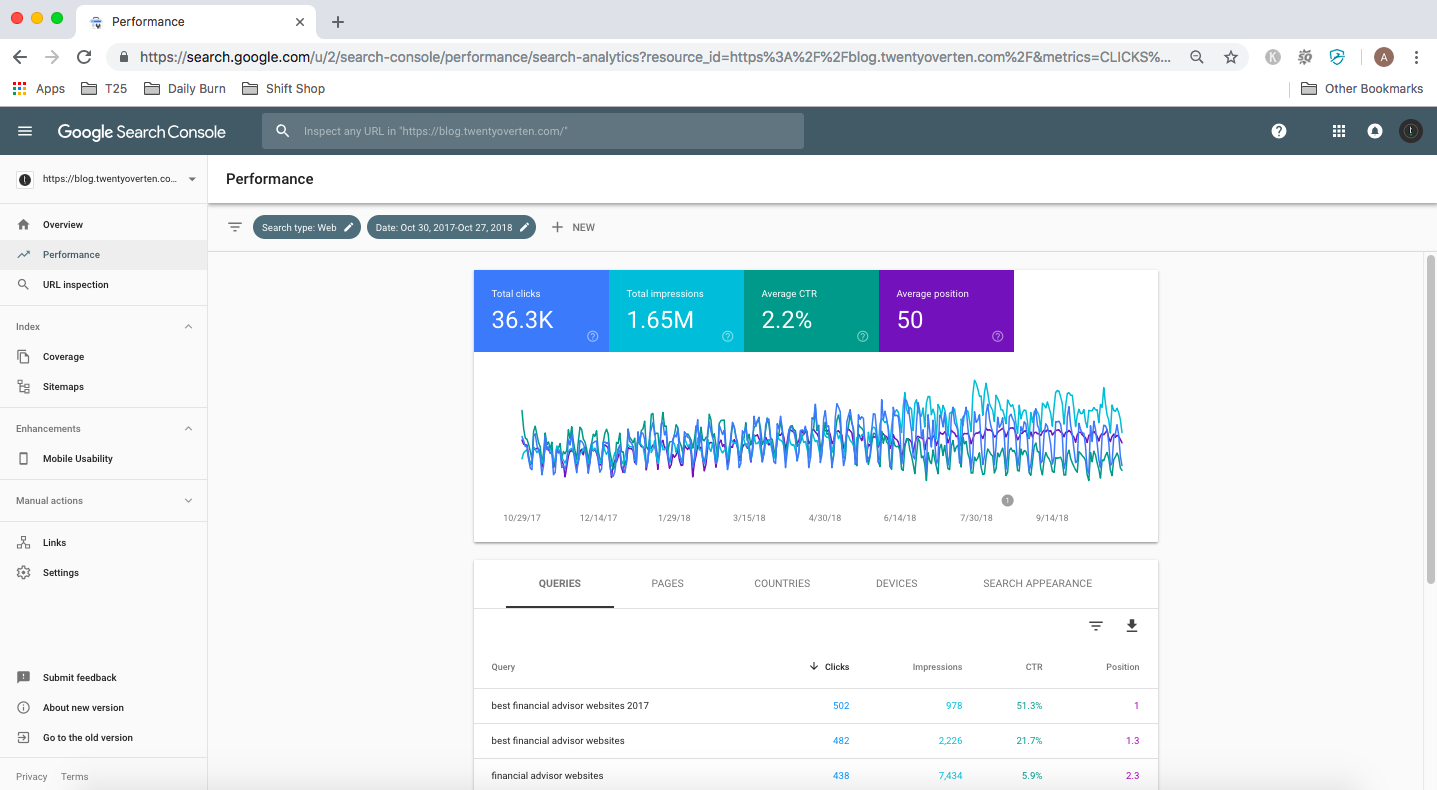 new performance report google search console updates