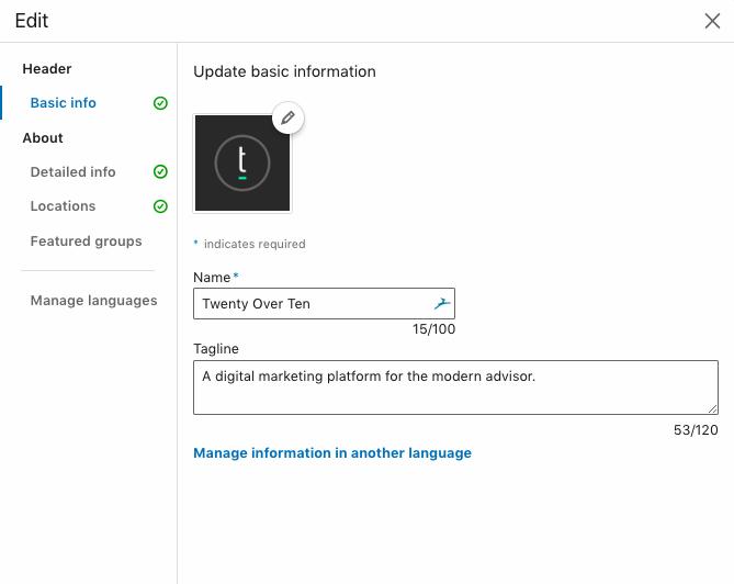 new linkedin tagline feature
