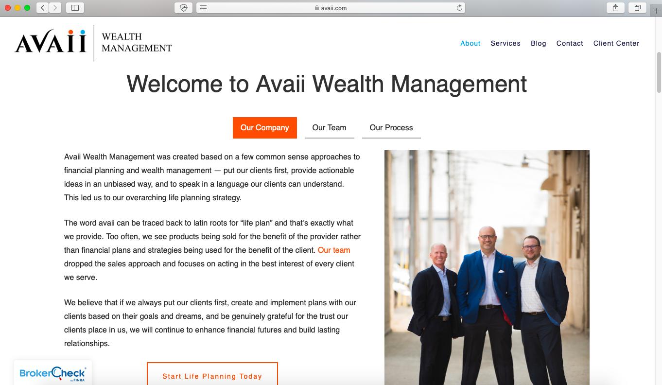 best advisor websites, avaii wealth management