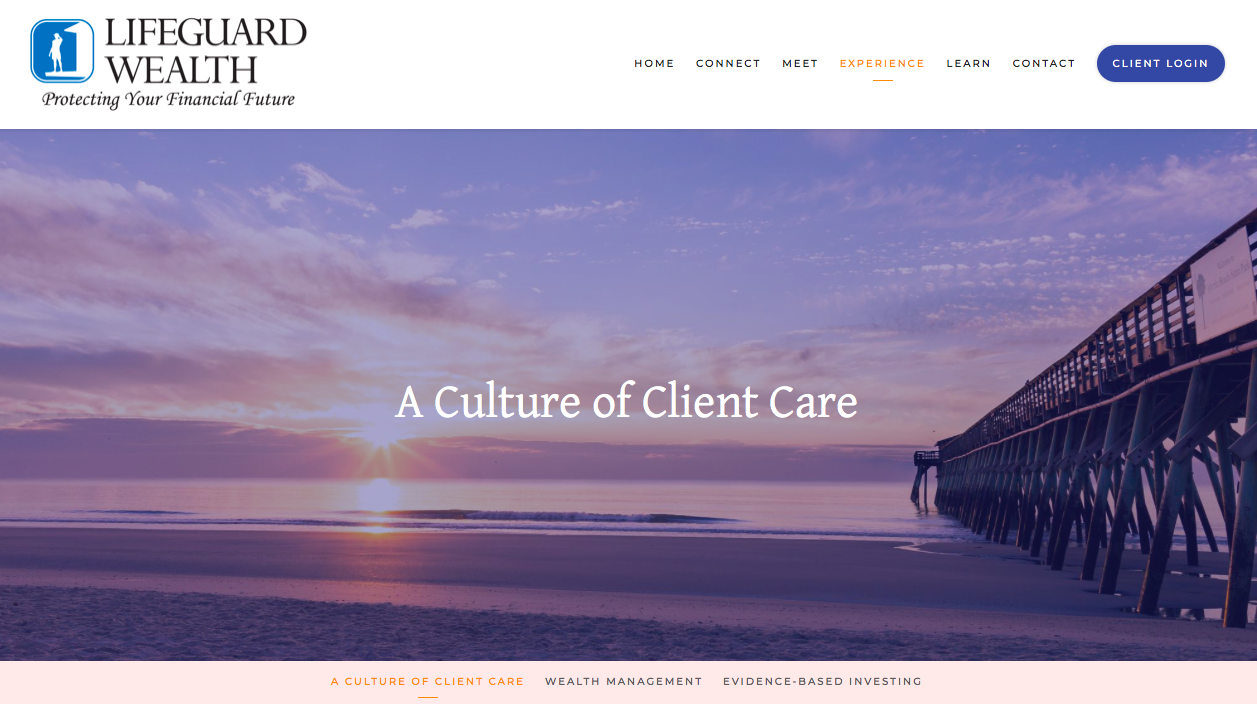 Client Care Lifeguard Wealth Image