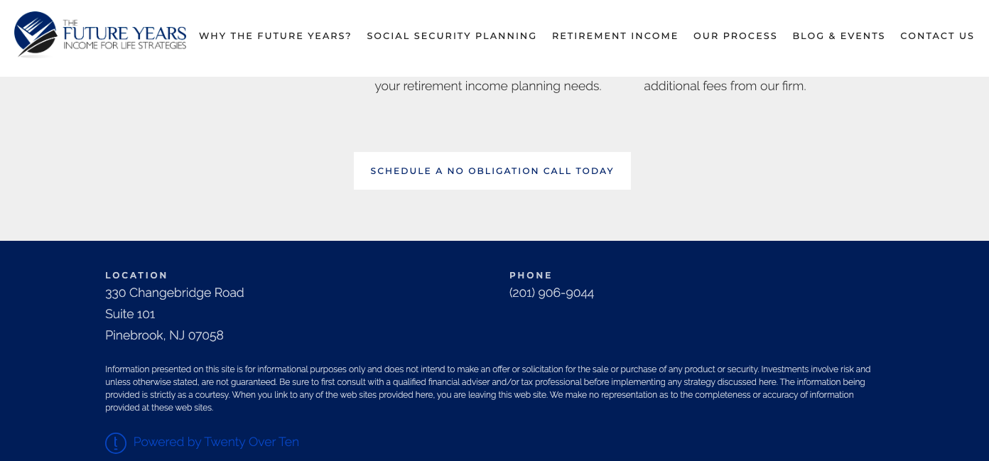 sample financial advisor disclosure statement for advisor website