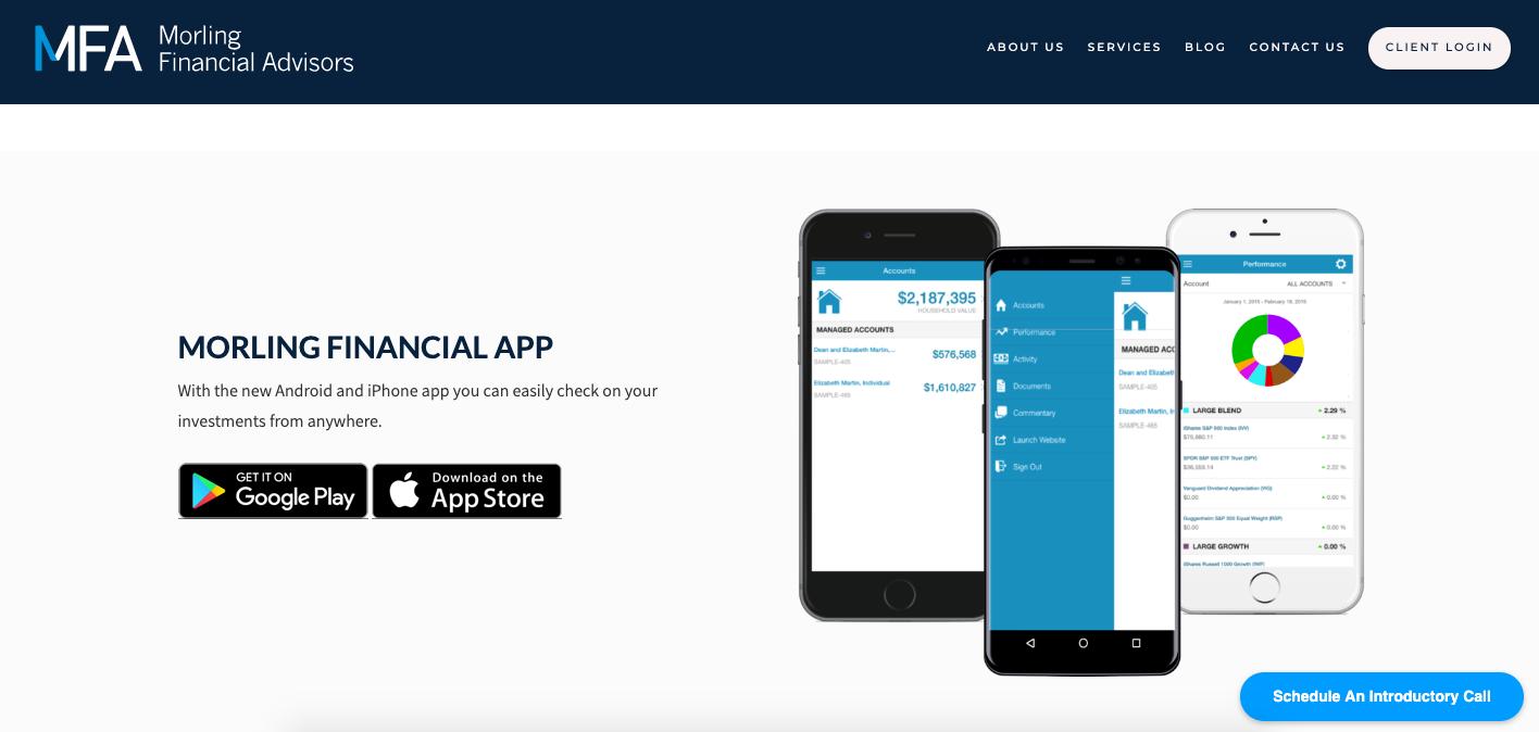 investment app morling financial advisors