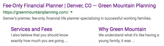 Green Mountain Planning