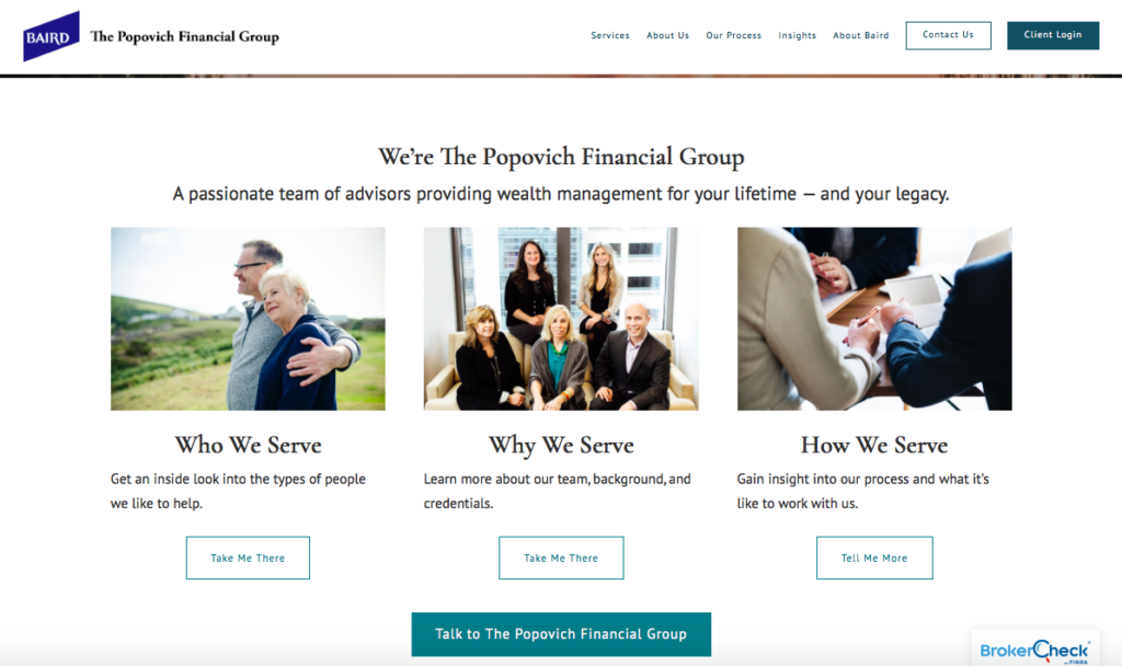 Popovich Financial Group