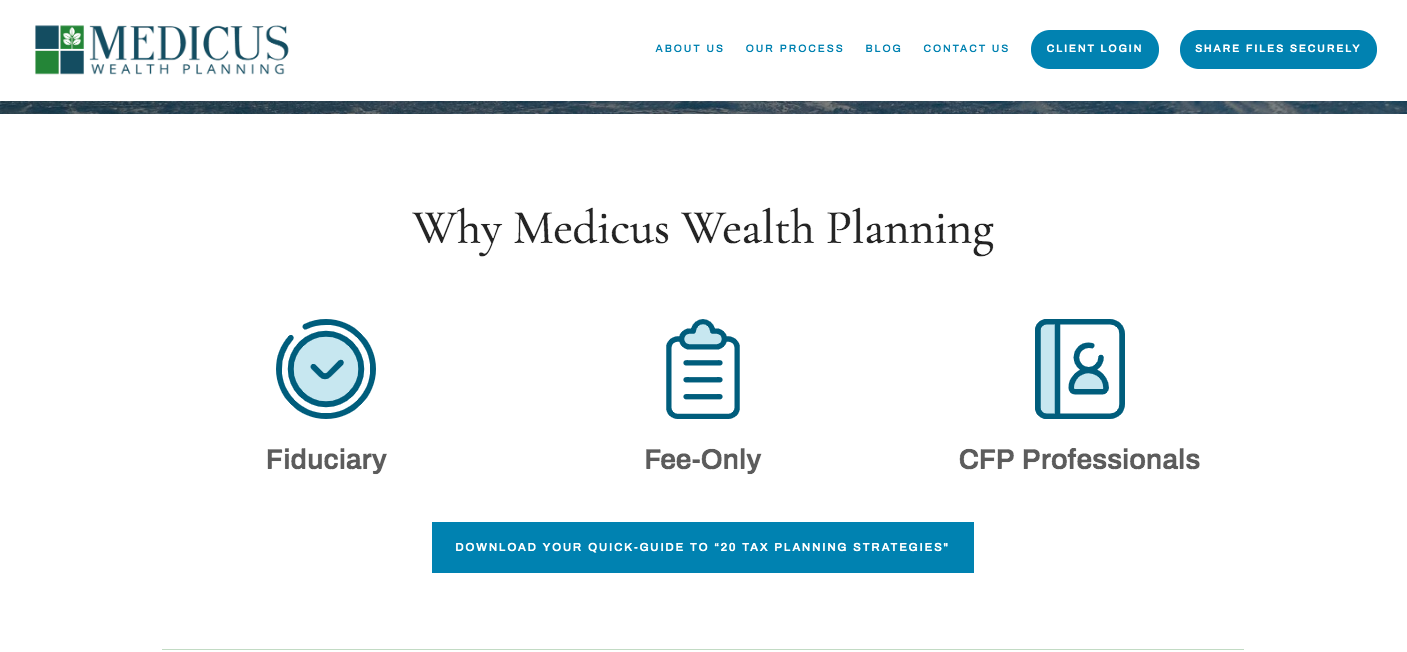 Medicus Wealth Planning CTA