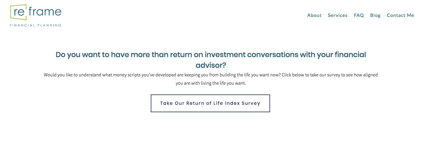 Return of Life Index Survey