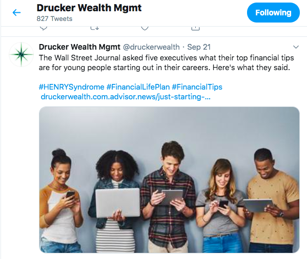 Drucker wealth twitter