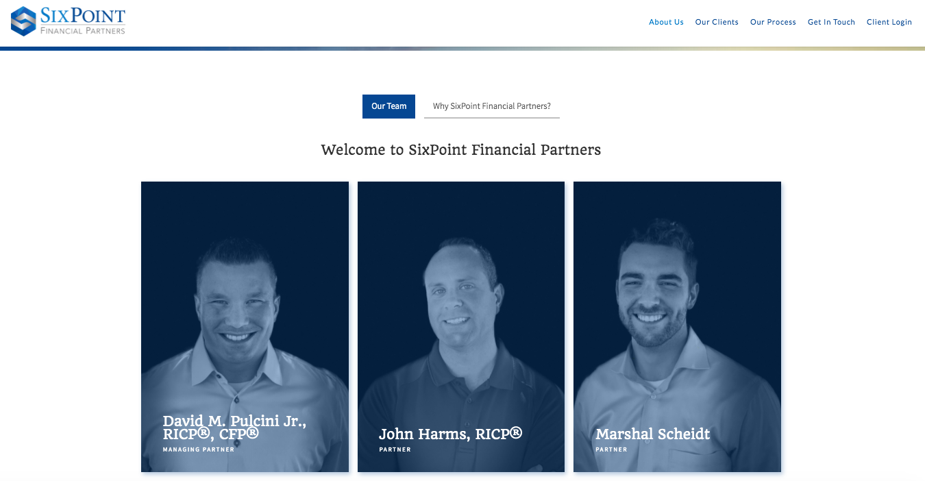 Meet the Team SixPoint Financial Partners