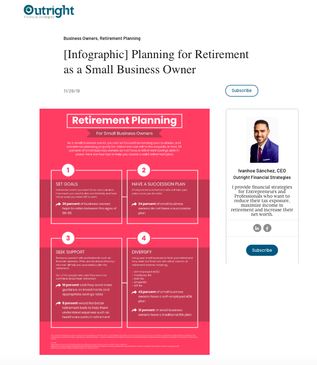 Outright Financial Landing Page