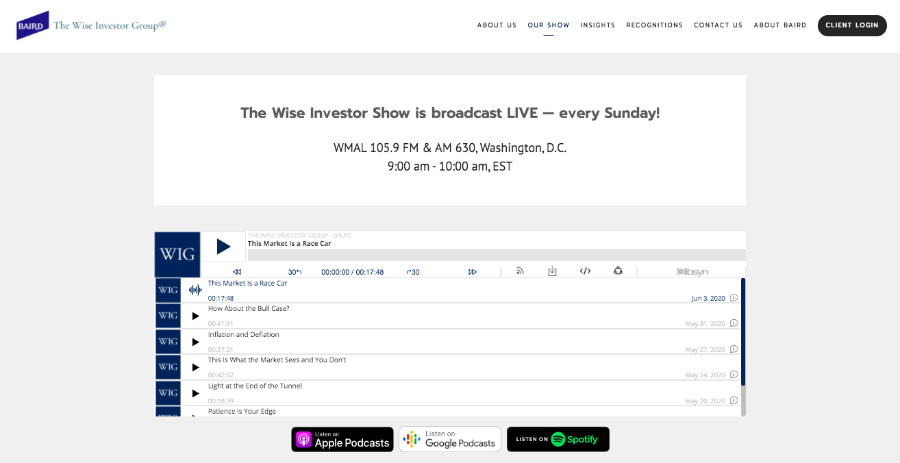 The Wise Investor Show podcast