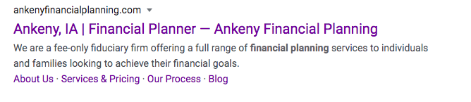 Ankeny Financial Planning