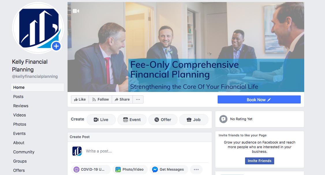 Kelly Financial Planning Facebook profile